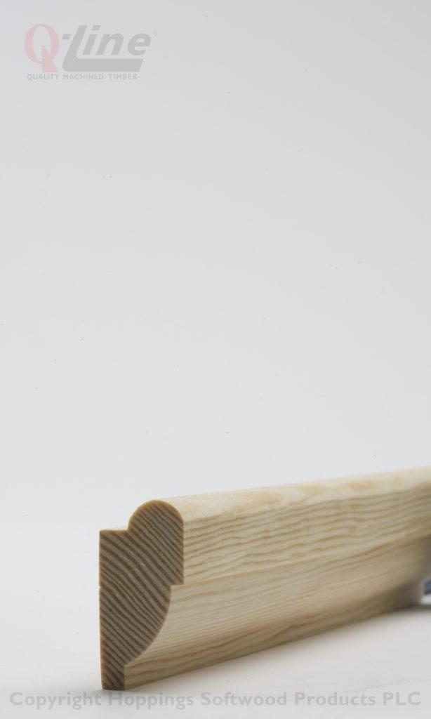 20mm Ovolo Picture Rail