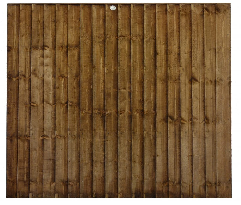 6' Featheredge BROWN
